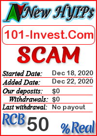 101-Invest.Com status: is it scam or paying