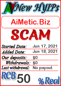 AiMetic.Biz status: is it scam or paying