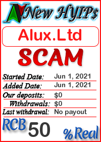 Alux.Ltd status: is it scam or paying