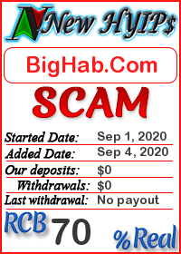 BigHab.Com status: is it scam or paying