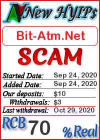Bit-Atm.Net status: is it scam or paying