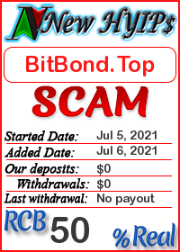 BitBond.Top status: is it scam or paying