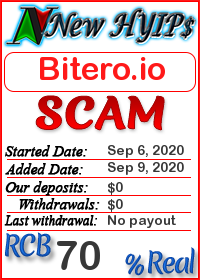 Bitero.io status: is it scam or paying