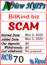 BitKind.biz status: is it scam or paying