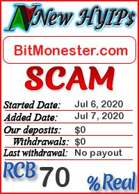 BitMonester.com status: is it scam or paying