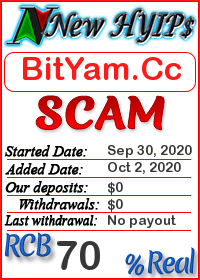 BitYam.Cc status: is it scam or paying