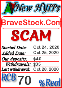 BraveStock.Com status: is it scam or paying