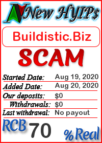 Buildistic.Biz status: is it scam or paying