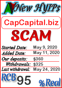 CapCapital.biz status: is it scam or paying