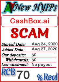 CashBox.ai status: is it scam or paying