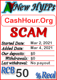 CashHour.Org status: is it scam or paying