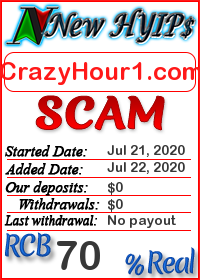 CrazyHour1.com status: is it scam or paying