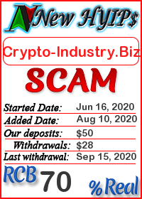 Crypto-Industry.Biz status: is it scam or paying