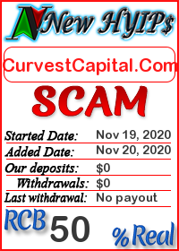 CurvestCapital.Com status: is it scam or paying