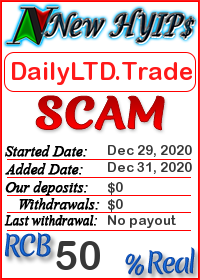 DailyLTD.Trade status: is it scam or paying