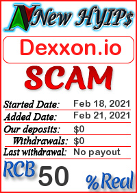 Dexxon.io status: is it scam or paying
