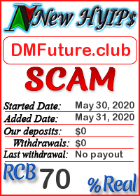 DMFuture.club status: is it scam or paying