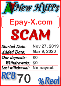 Epay-X.com status: is it scam or paying