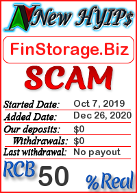 FinStorage.Biz reviews and monitor