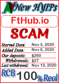 FtHub.io status: is it scam or paying