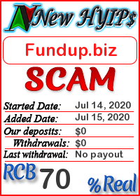 Fundup.biz status: is it scam or paying