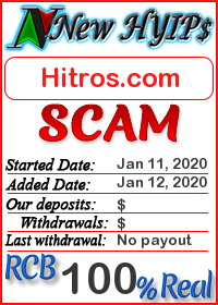 Hitros.com status: is it scam or paying