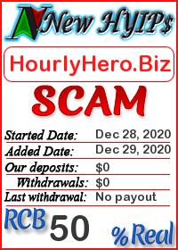 HourlyHero.Biz status: is it scam or paying