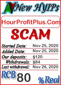 HourProfitPlus.Com status: is it scam or paying