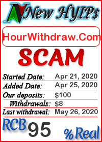 HourWithdraw.Com status: is it scam or paying