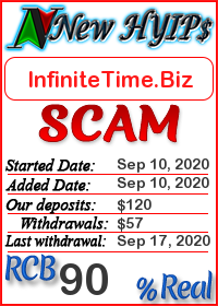 InfiniteTime.Biz status: is it scam or paying