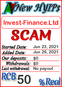 Invest-Finance.Ltd status: is it scam or paying