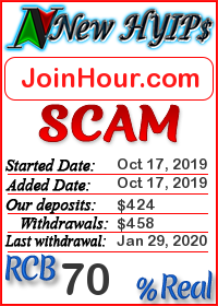 JoinHour.com status: is it scam or paying