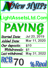 LightAssetsLtd.com status: is it scam or paying