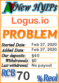 Logus.io status: is it scam or paying