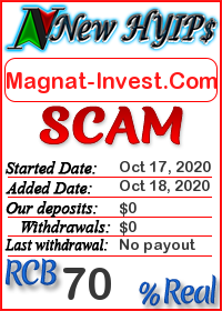 Magnat-Invest.Com status: is it scam or paying