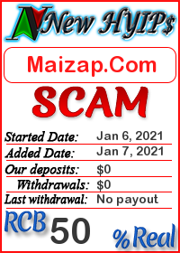 Maizap.Com status: is it scam or paying