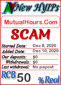 MutualHours.Com status: is it scam or paying
