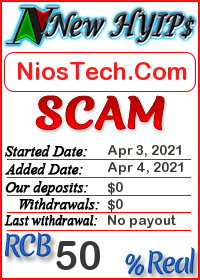 NiosTech.Com status: is it scam or paying