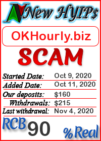 OKHourly.biz status: is it scam or paying