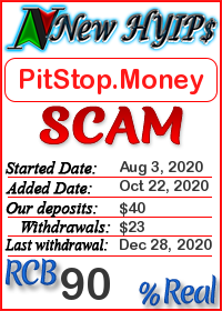 PitStop.Money status: is it scam or paying