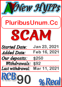 PluribusUnum.Cc status: is it scam or paying