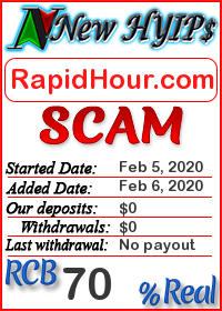 RapidHour.com status: is it scam or paying