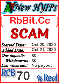 RbBit.Cc status: is it scam or paying