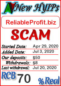 ReliableProfit.biz status: is it scam or paying