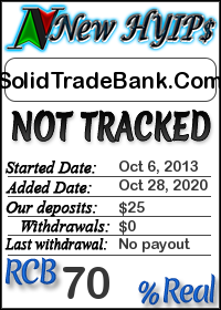 SolidTradeBank.Com status: is it scam or paying
