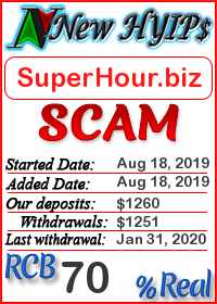 SuperHour.biz status: is it scam or paying