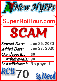 SuperRoiHour.com status: is it scam or paying