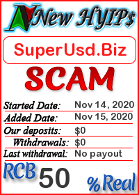 SuperUsd.Biz status: is it scam or paying