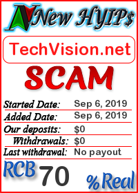 TechVision.net status: is it scam or paying
