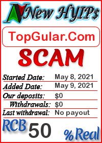 TopGular.Com status: is it scam or paying